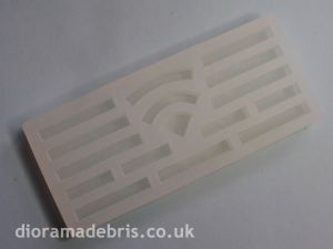 "1:35 Scale 6"" Curbstones Mould (1350061)"